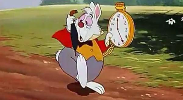 Je suis en retard retard retard hook up - Alice au pays des merveilles lapin en retard ...
