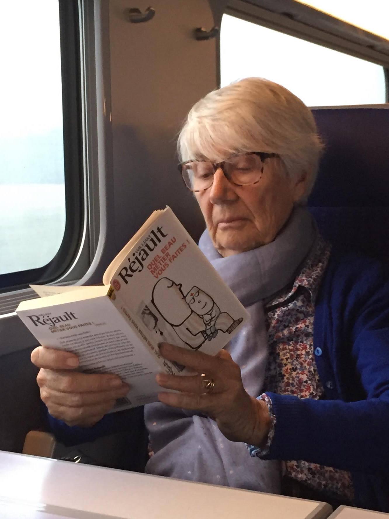 La dame du train