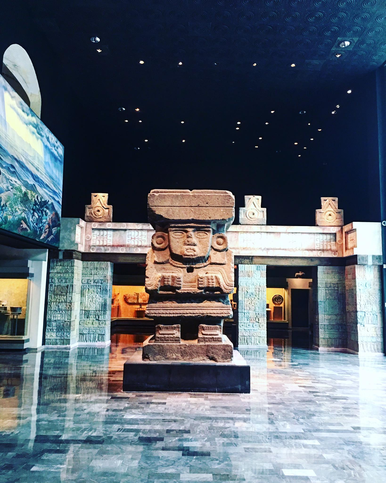 Mexico : maison de Frida Kahlo & Museo Nacional de Antropología