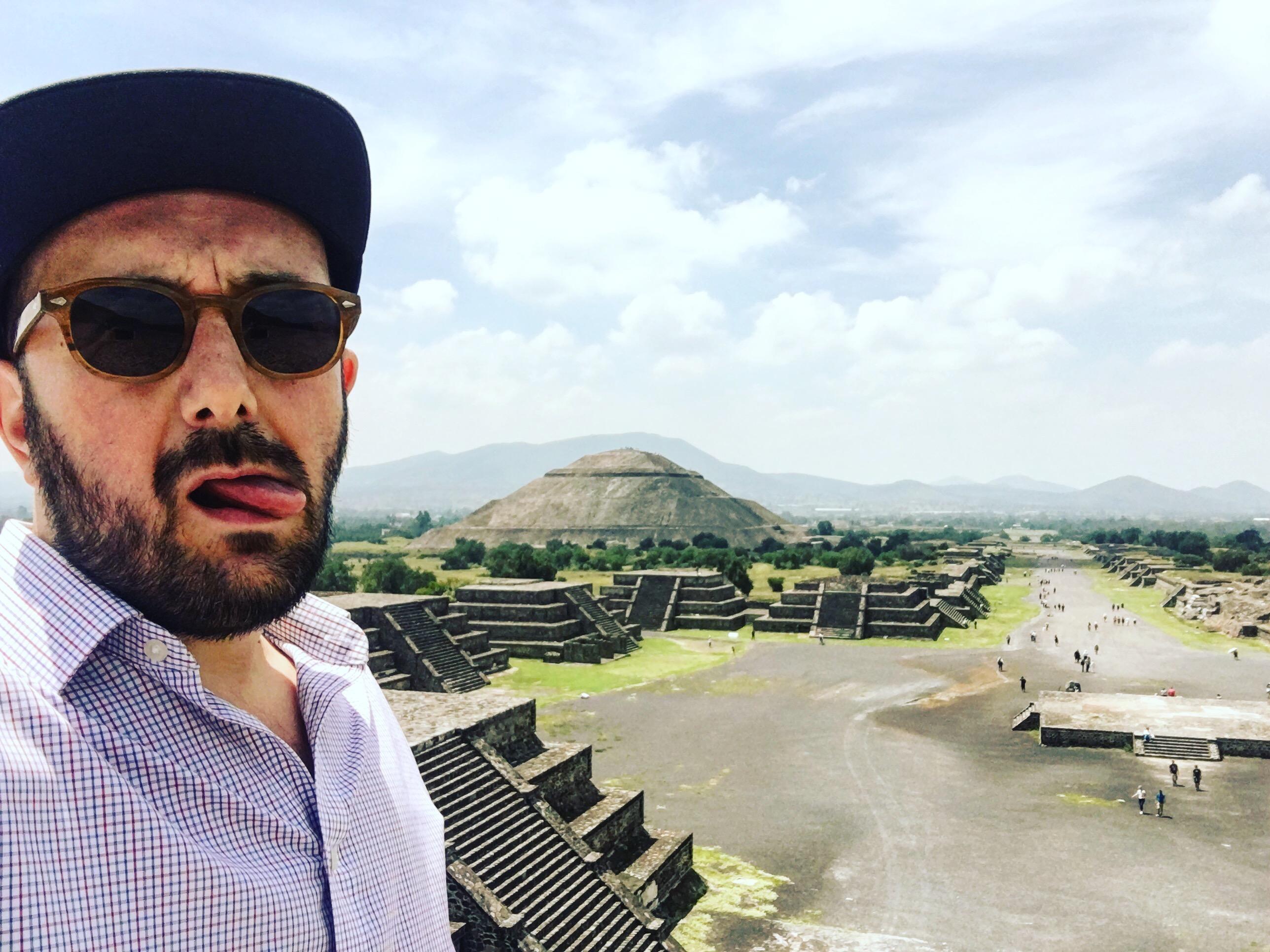 Mexique : Pyramides de Tehotihuacan