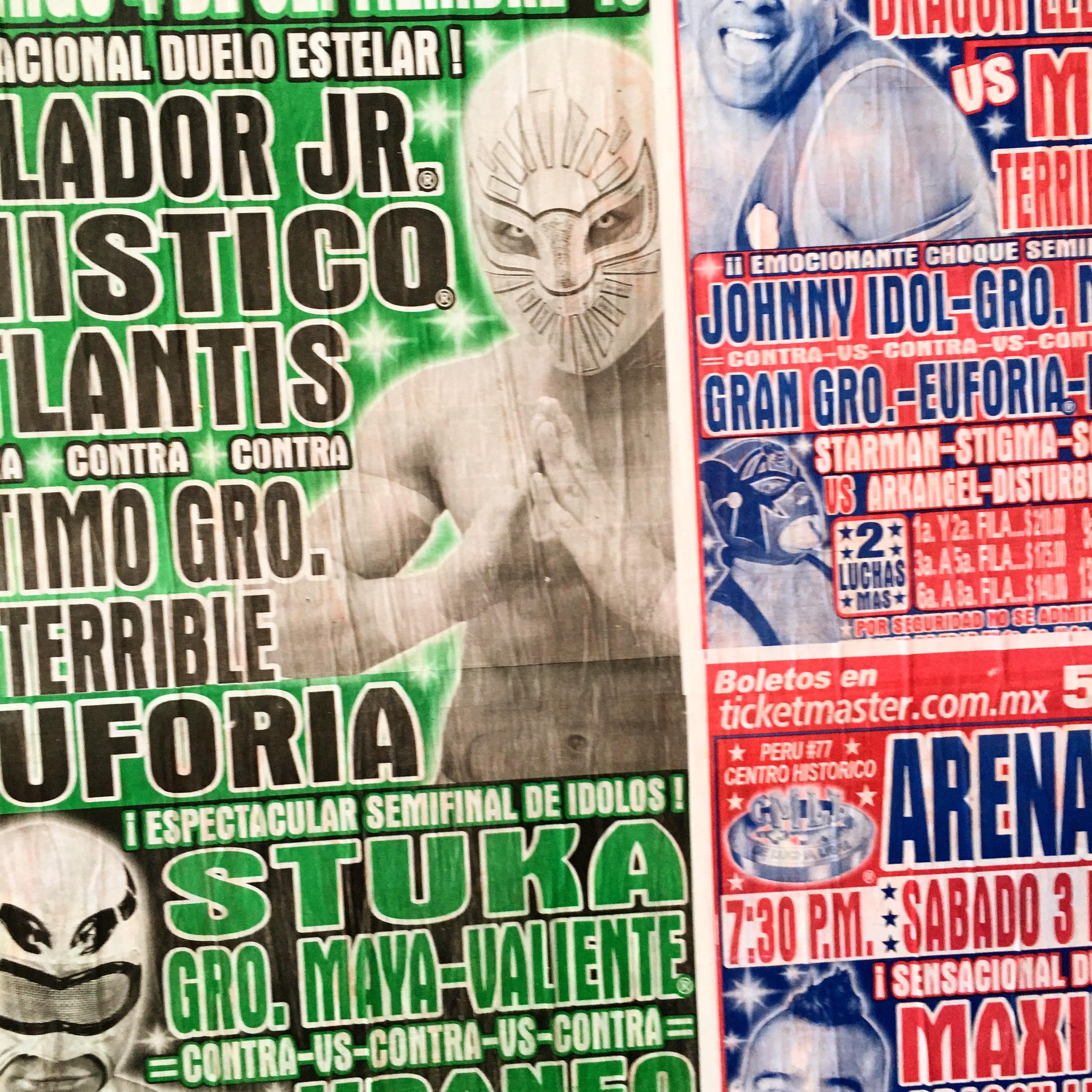 Mexico : la nuit au catch (la lucha libre)