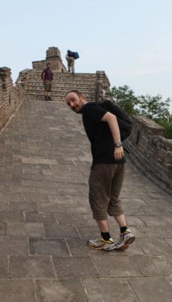 Grande muraille de Chine, mai 2009