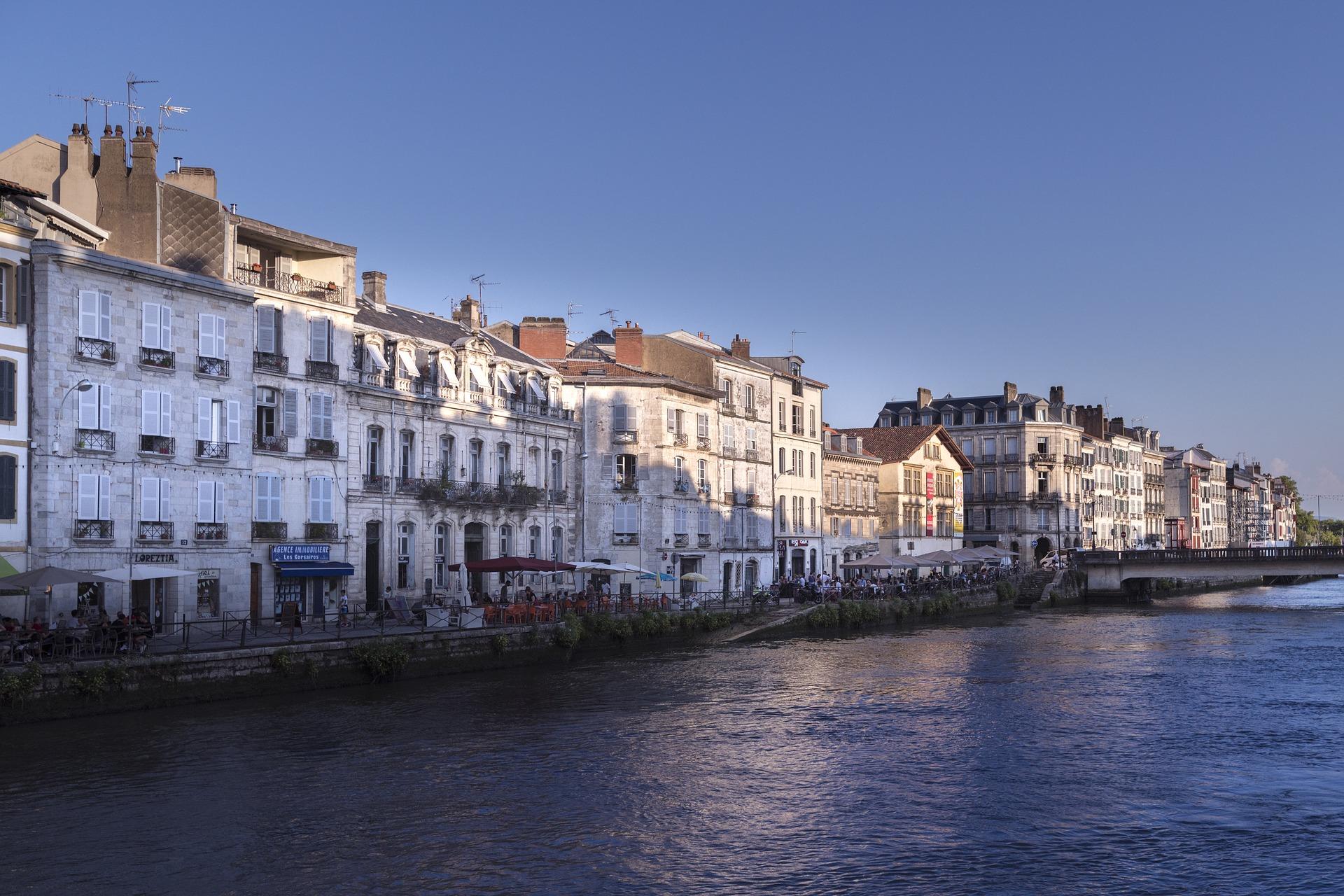 Bayonne, la Nive