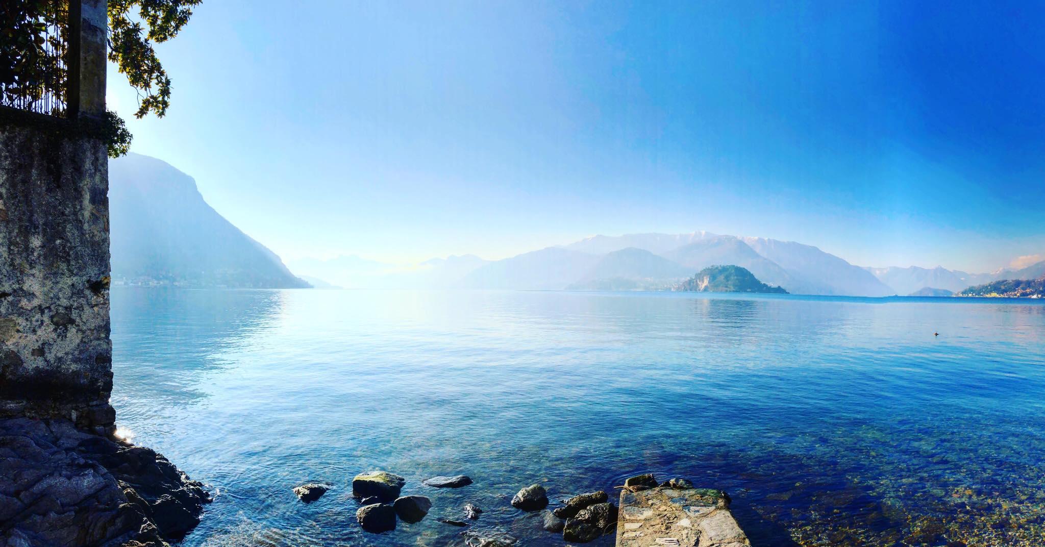 Lombardie : Lac de Côme